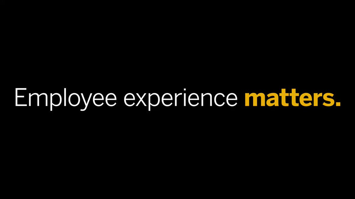 The correlation between employee satisfaction and customer experience is too strong to ignore, says @JCMeister. See why: https://t.co/4MEwZngaVq #SAPAppCenter