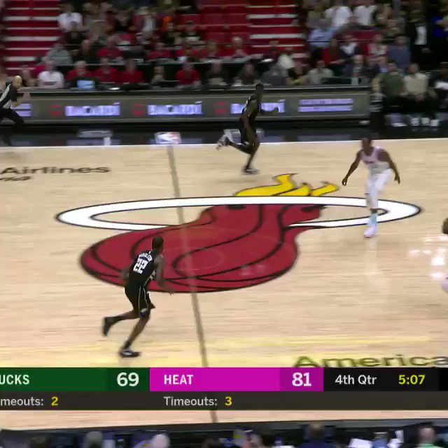 At #3 of the TOP 60 SWATS from the 2017-18 season... @Bam1of1 of the @MiamiHEAT!   #NBABlockWeek #BESTofNBA https://t.co/TOTkcdBGg1