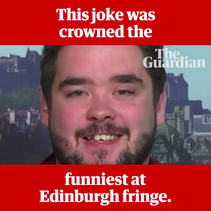 Here are Edinburgh Fringe's funniest jokes from 2012 to 2018 https://t.co/XXUptbkxL7