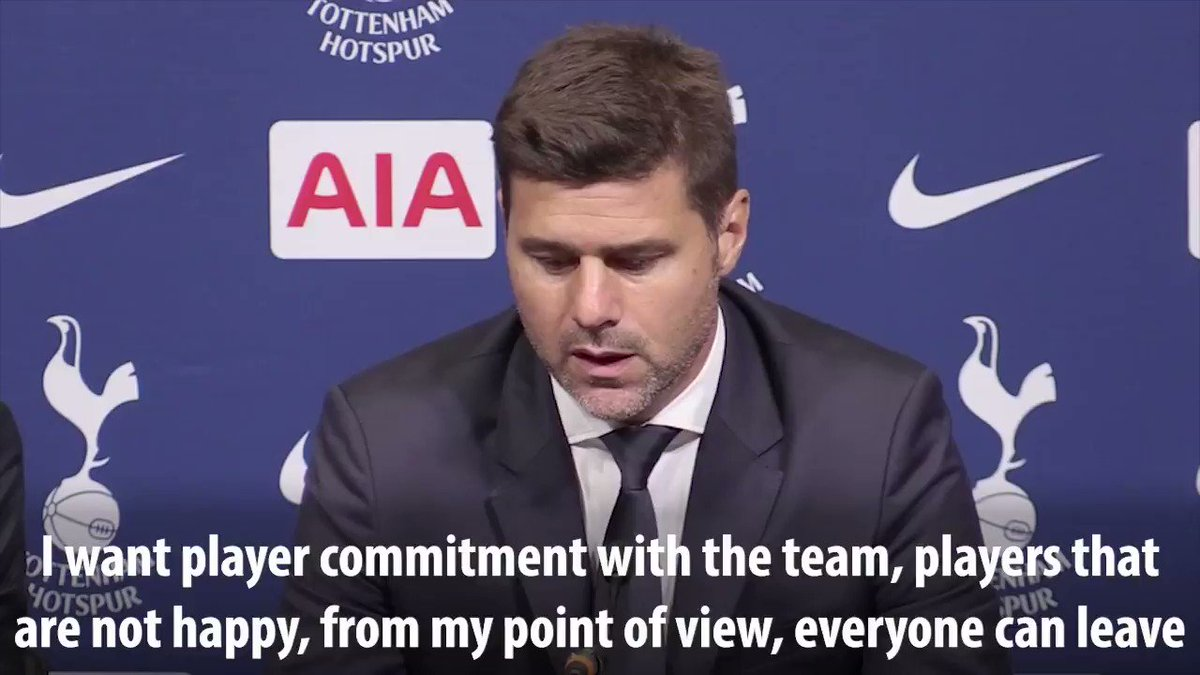 Pochettino gave an incredible answer about the type of players he wants at Spurs when asked about Toby Alderweirelds future on Saturday #COYS #THFC