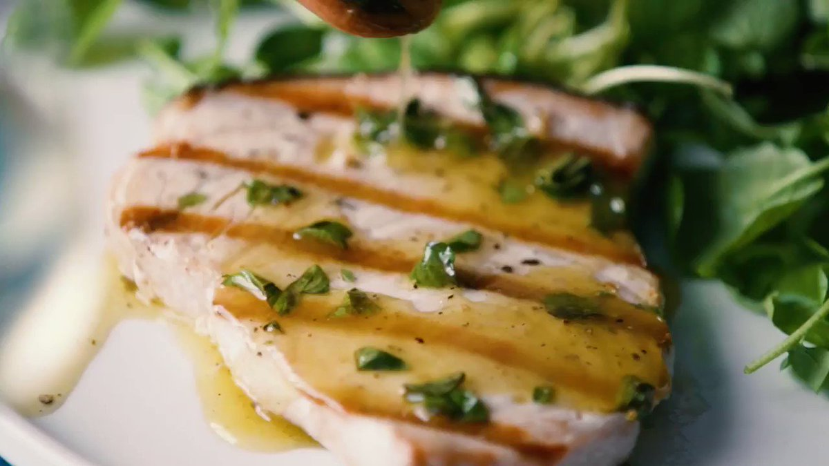 Image for the Tweet beginning: Marcella Hazan's recipe for swordfish
