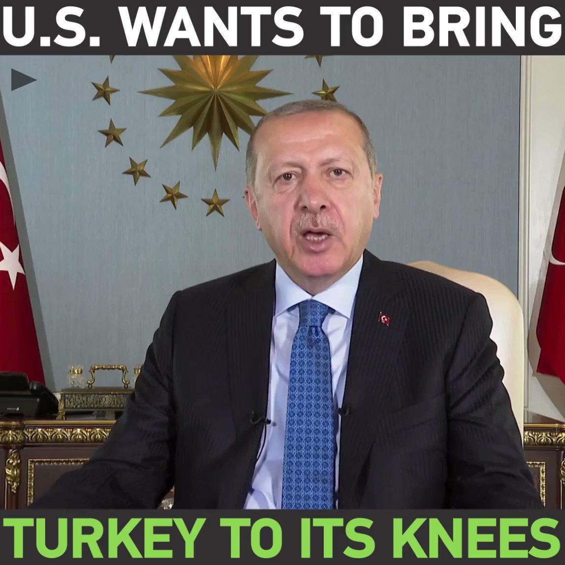 U.S. wants to bring Turkey to its knees – Erdogan