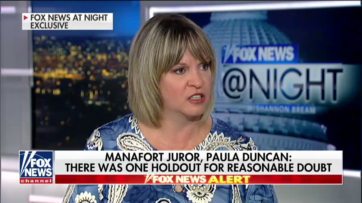 Manafort juror says one holdout prevented conviction on all 18 counts