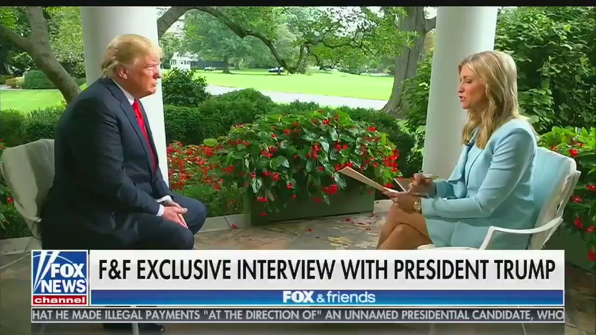 Trump: 'If I ever got impeached, I think the market would crash. I think everybody would be very poor' https://t.co/Et8PB7T9XD