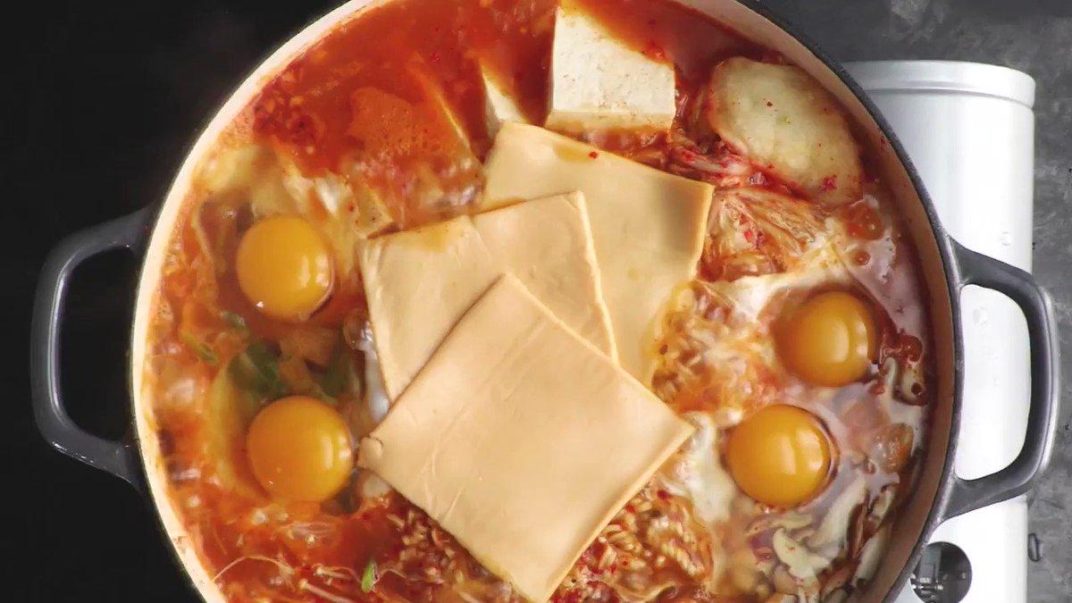 Image for the Tweet beginning: Chef Edward Lee's budae jjigae
