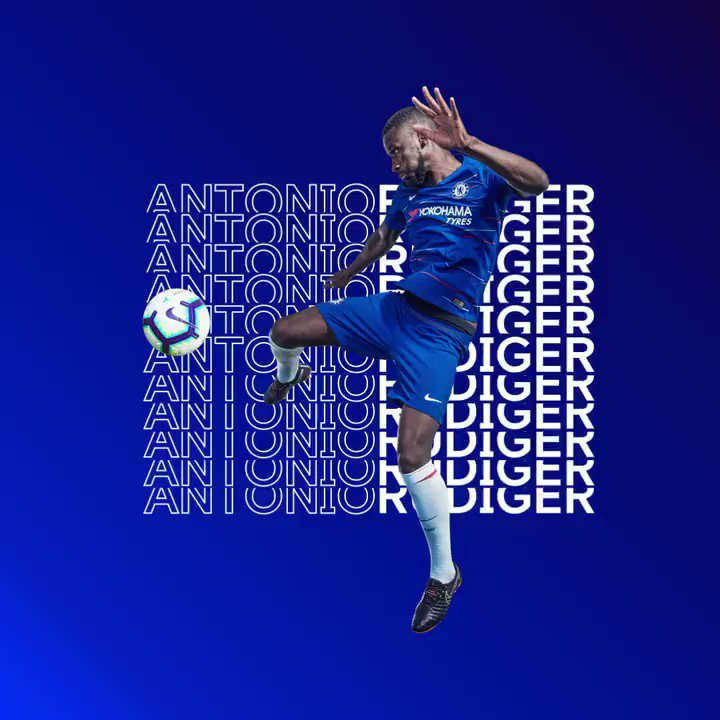 Chelsea FC's photo on Rudiger