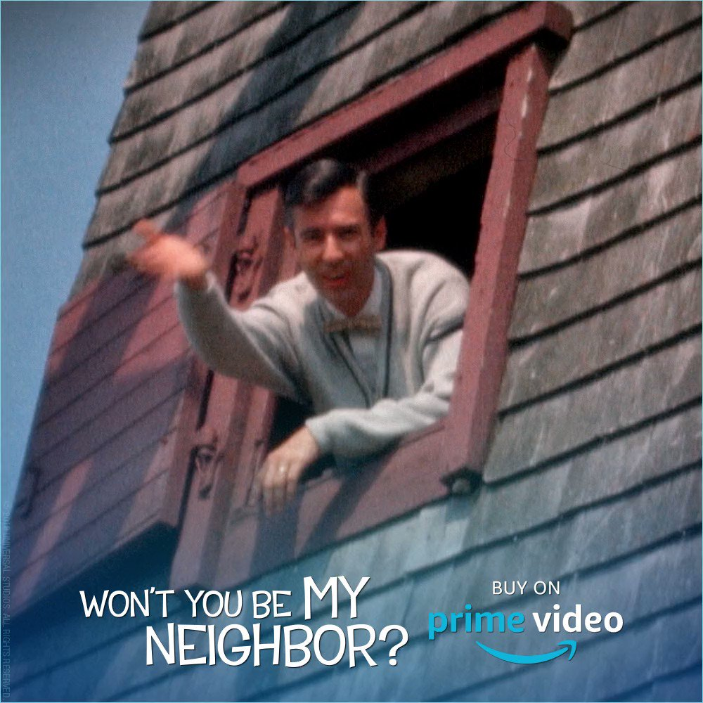 Bring Mister Rogers' story home to your family! #WontYouBeMyNeighbor is available on Amazon now.