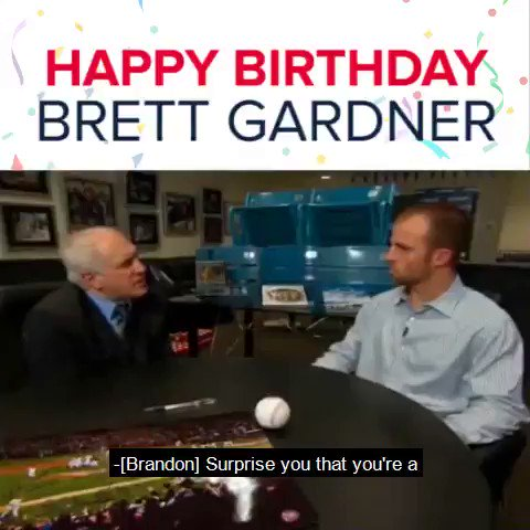 It\s a Gardy Party all day long! Happy Birthday, Brett Gardner!