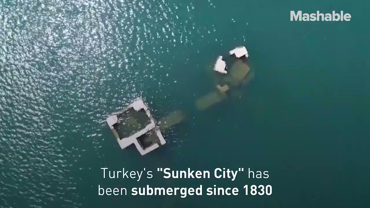 """This """"Sunken City"""" has been submerged since 1830"""