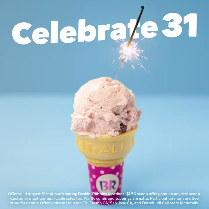 Baskin Robbins On Twitter Start The Holiday Weekend Right With