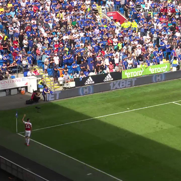 Arsenal FC's photo on Cardiff