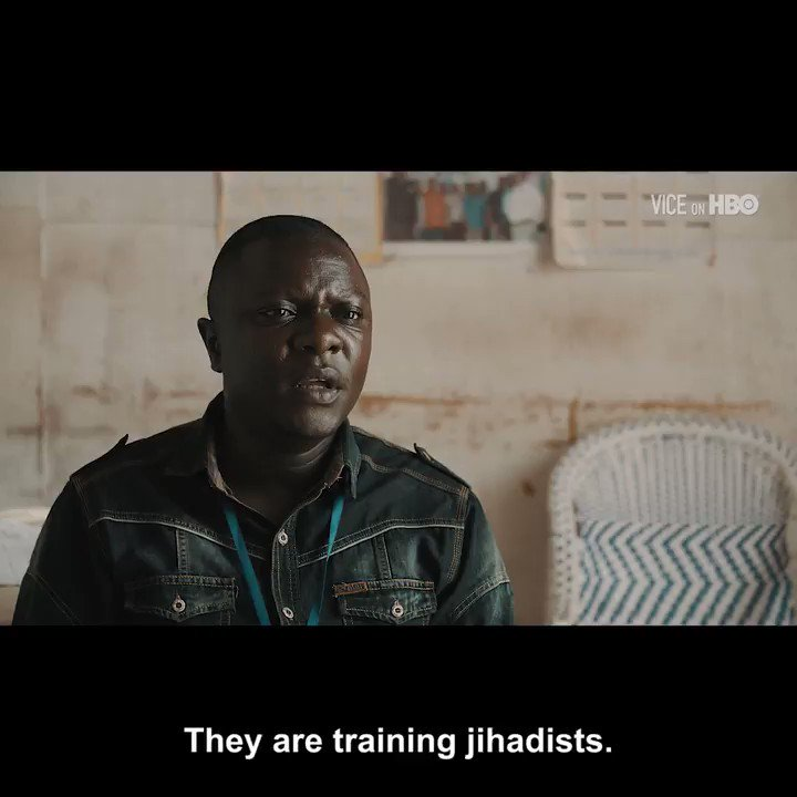 """""""If the world continues to sit on their hands and let the rebels use the forest and the territory as a terrorist training center, the ADF can even be considered a danger for the entire world"""" #VICEonHBO"""