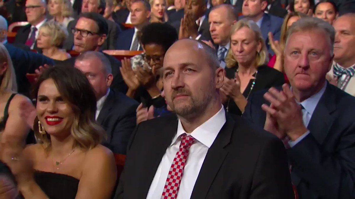 #18HoopClass enshrinee Dino Radja's @HoopHall Acceptance Speech! https://t.co/yLHQlG2yLt