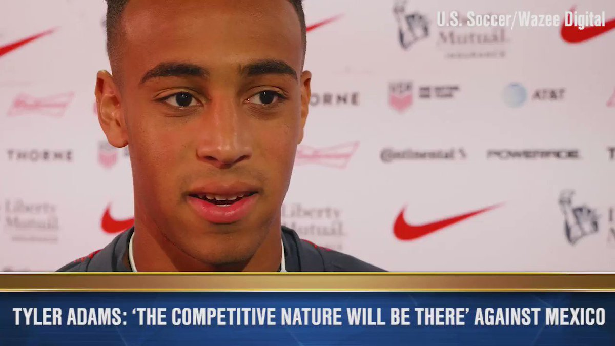 USA vs Mexico is never just a friendly. 🇺🇸🇲🇽 Tuesdays match will be the first taste of the rivalry at senior level for Tyler Adams, Wil Trapp and many others on the new-look USMNT.
