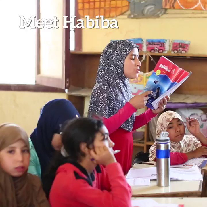We believe in #GirlPower! In Egypt, WFP school meals encourage 1000s of families to keep girls in school – feeding bodies, minds & dreams. #BackToSchool