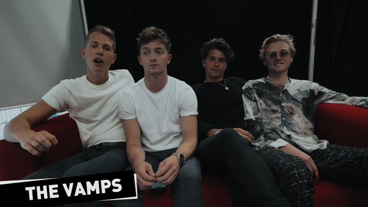 .@TheVampsband se presenta esta noche en la Ciudad de México y te compartimos todo lo que nos contaron ¡Escucha la entrevista en tu 📻 y https://t.co/h88zcrMont! 🎶 https://t.co/ABjj5QDOPQ