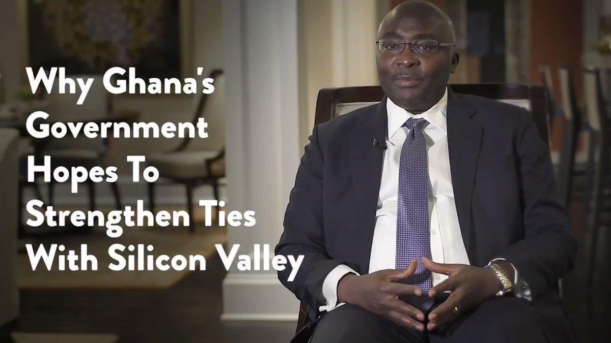 How Ghana's government plans on strengthening ties with Silicon Valley, the Mecca of innovation: https://t.co/0hohs0Atgf