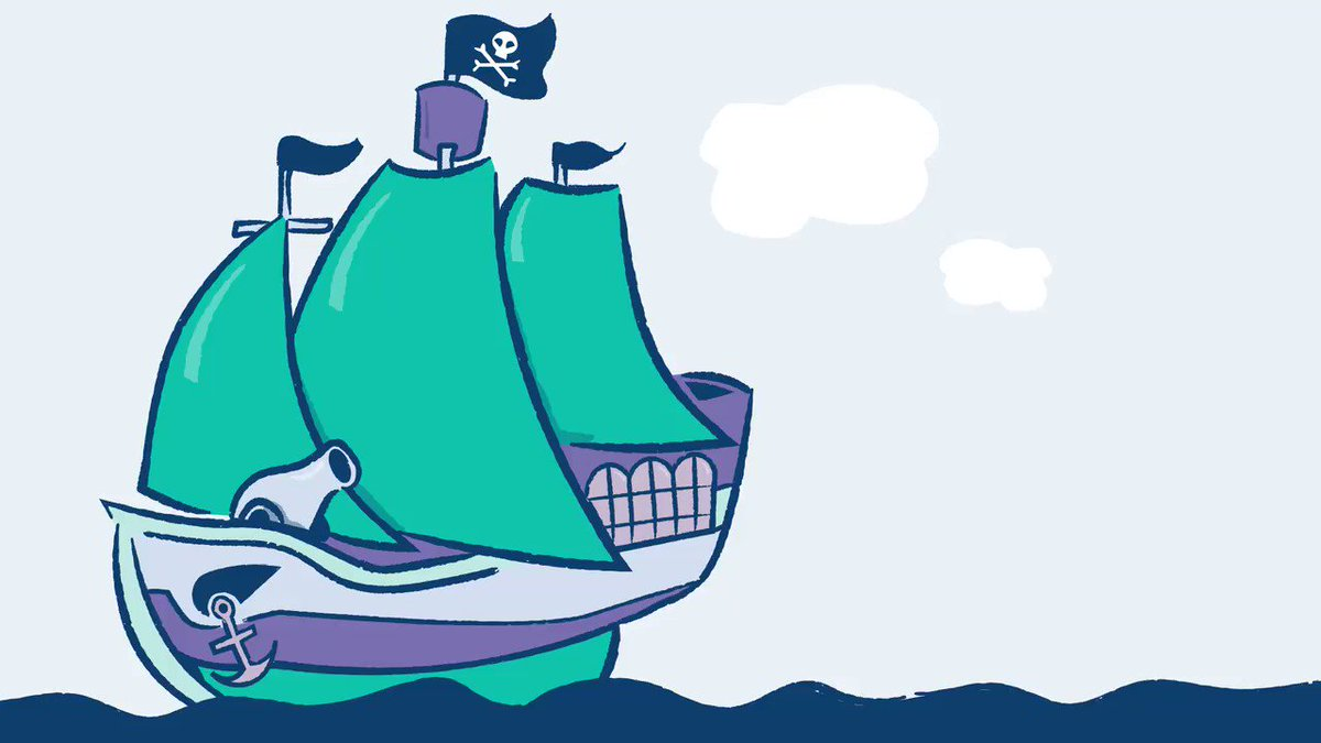 Fire in the hole! The pirates guide to saving money is headed yer way, matey! #TalkLikeAPirateDay spr.ly/6010DFwh8