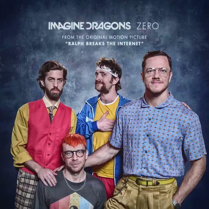 "Listen to @ImagineDragons' new song ""Zero"" from #RalphBreaksTheInternet: smarturl.it/IDZero"