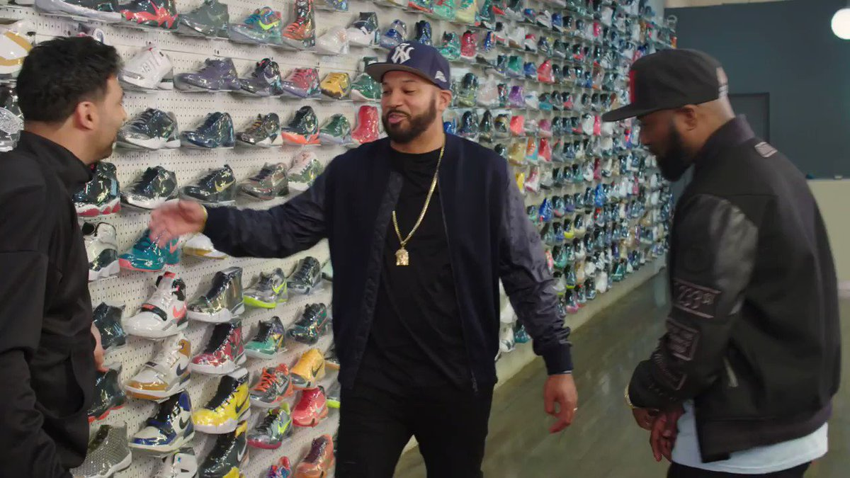.@THEKIDMERO remembers being blessed by the Angel of Swag @JLaPuma on the latest Sneaker Shopping 😂 WATCH: youtu.be/in_lIHP4RUA