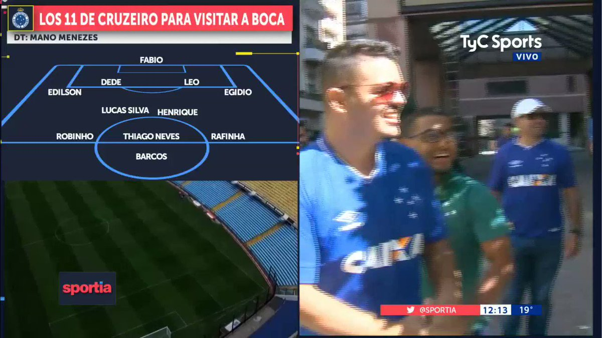 TyC Sports's photo on Cruzeiro