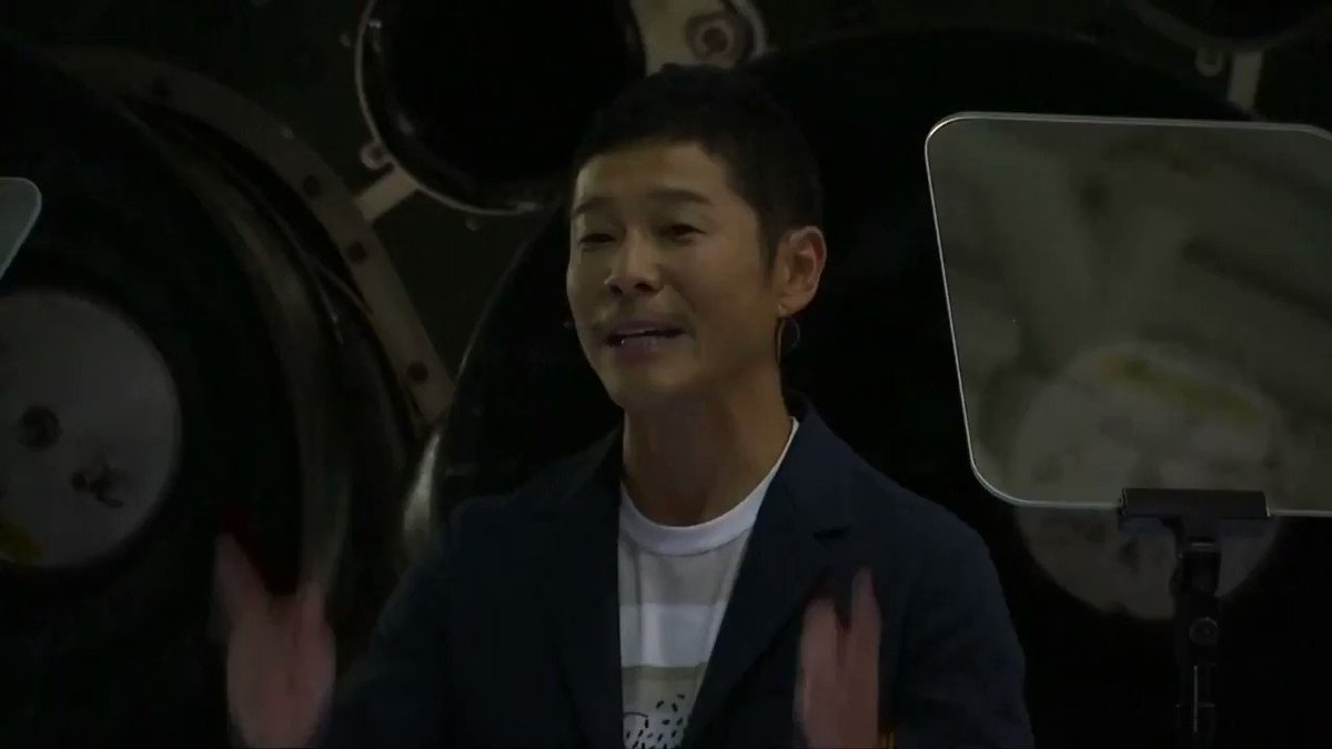 Yusaku Maezawa: The Japanese billionaire Musk's SpaceX is sending to space https://t.co/bBhCUed3YR via @ReutersTV https://t.co/U5kmWffIel