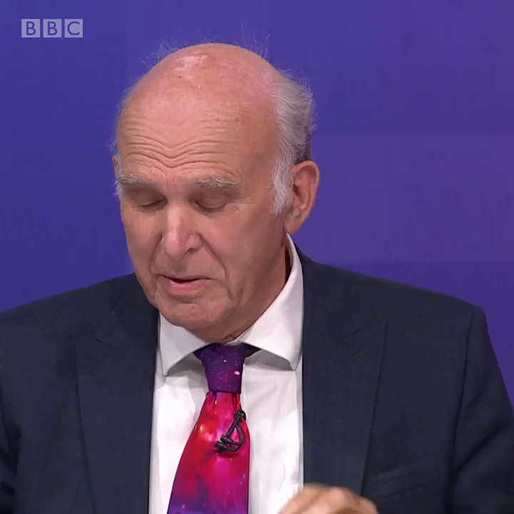 There is clearly a very big swing in that direction @vincecable says that many people have changed their minds on whether to hold another vote on Brexit #bbcqt