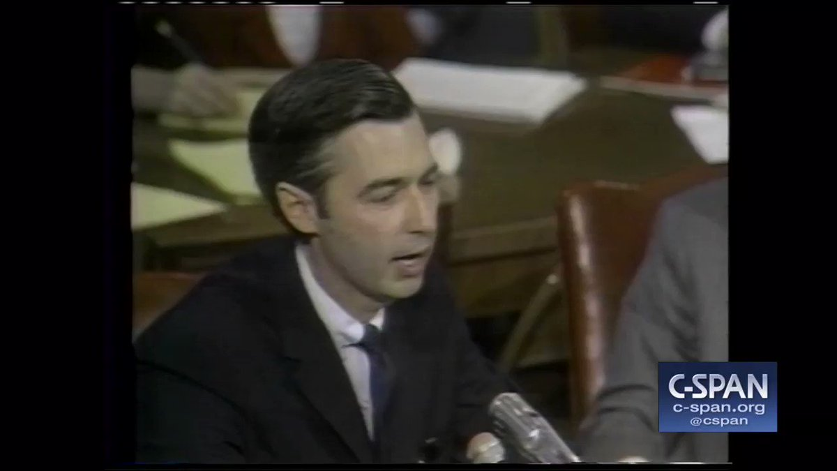 In 1967, #OnThisDay, taping began for Mister Rogers Neighborhood. In 1969, Mr. Rogers testified before a Senate Committee to advocate for educational programming and public broadcasting funding. Looks like you just earned the 20 million dollars. #FlashbackFriday