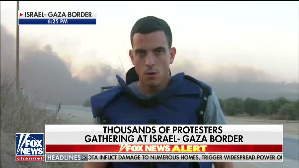 Thousands of Protesters Gathering at Israel-Gaza Border; @TreyYingst reports https://t.co/2NeUQG7AfI