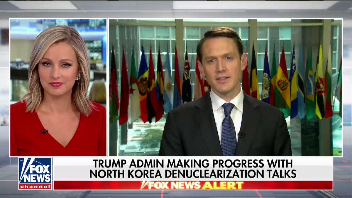 Trump Admin Making Progress with North Korea Denuclearization Talks; @RichEdsonDC reports https://t.co/HAbMzhubfn