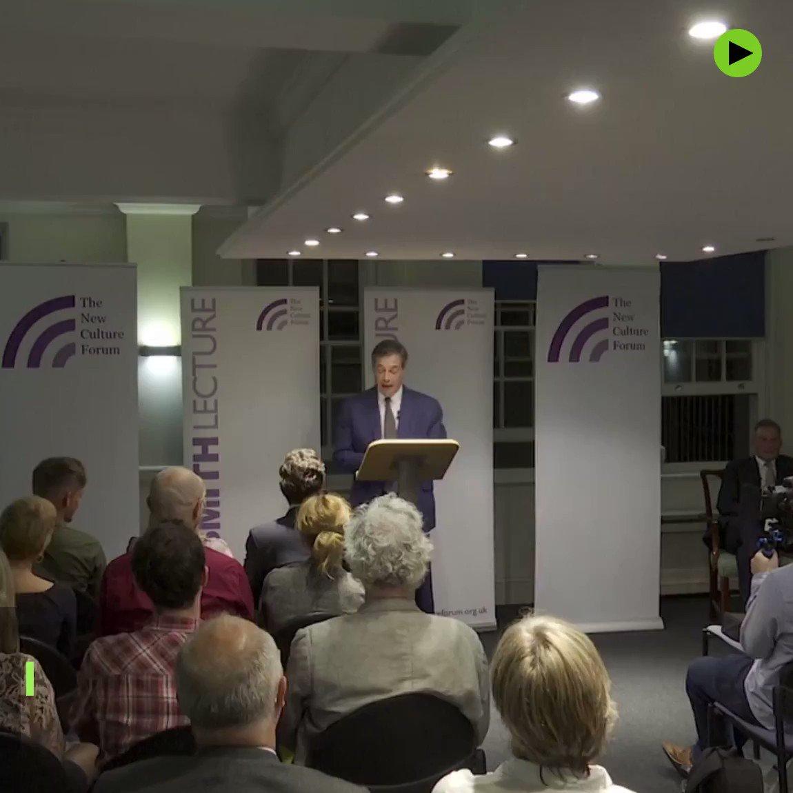 'Social Media is threatening democracy' – Former UKIP leader Nigel Farage https://t.co/RsBBo3TcRX