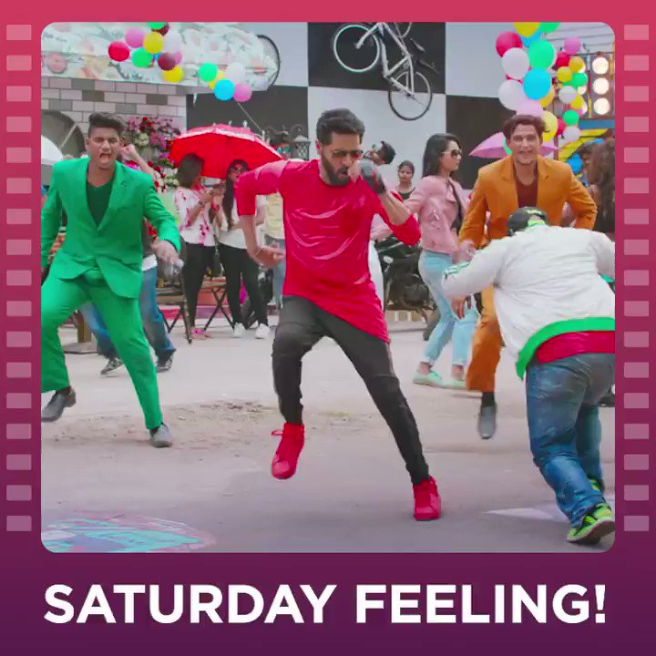 Are you getting the #SaturdayPartyVibes like we are? Tune in to Gulaebaghavali, tonight at 8 PM. @PDdancing @ihansika #Revathi #Kalyaan #Gulaebaghavali
