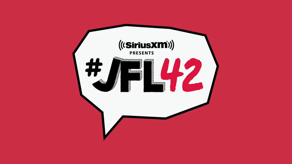 Image for the Tweet beginning: Your day 3 JFL42 CHECK-IN