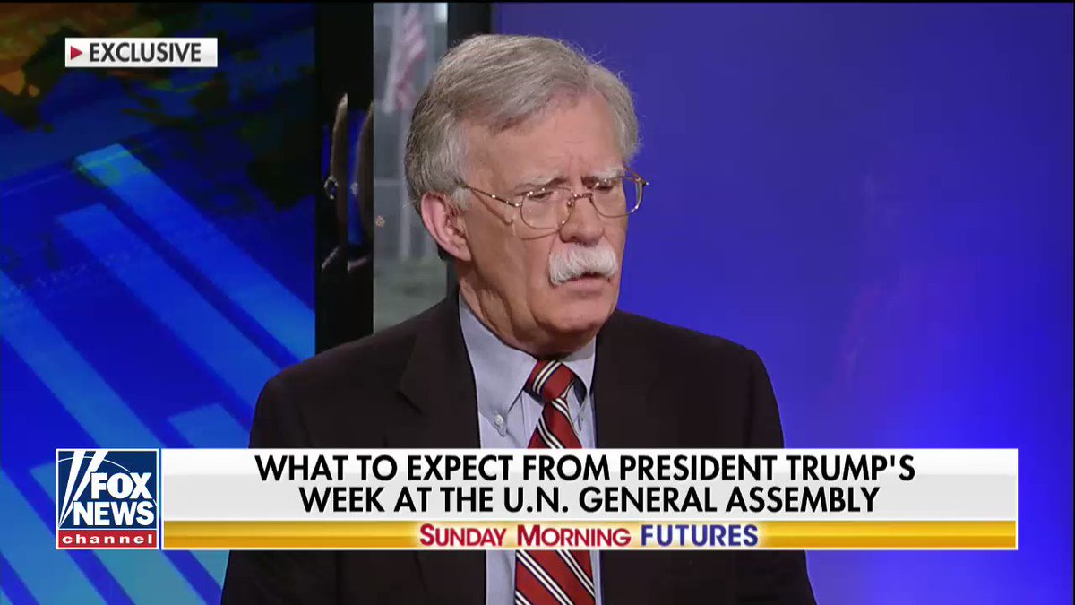 """Image for the Tweet beginning: .@AmbJohnBolton: """"The president's decision to"""