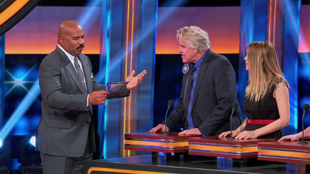 The question remains: Whats the most kissable part of Gary? The season finale of #CelebrityFamilyFeud is tonight!
