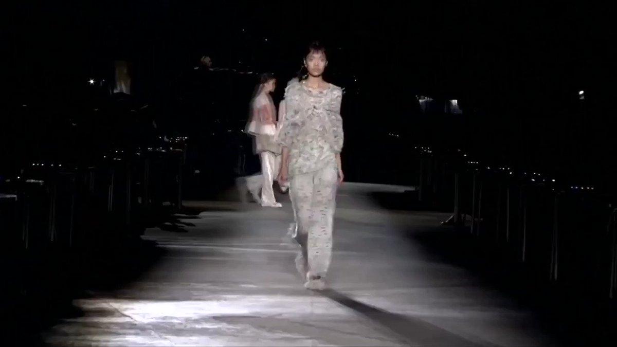 Missoni celebrates their 65th anniversary at Milan Fashion Week https://t.co/x2TBkjyjLX