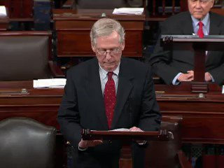 Mitch McConnell: 'Judge Kavanaugh will be voted on here on the Senate floor.' https://t.co/rIKtNdYwml https://t.co/aEyD5KTFqd