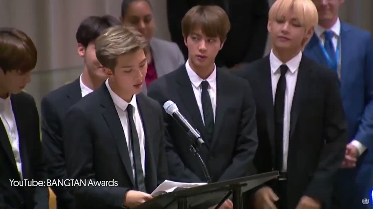 BTS advocated for self-love during their UN speech #BillboardNews https://t.co/8mE2BDvoxG https://t.co/YH57Vx5QqT