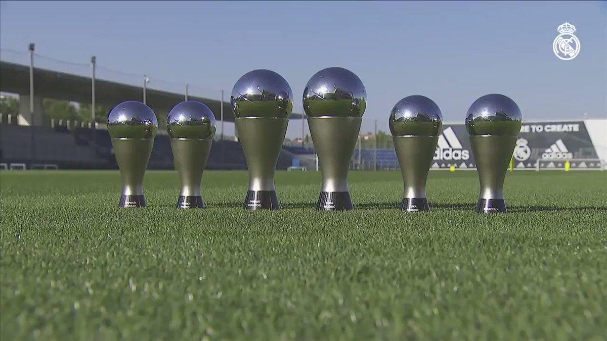 ���� ¡Los premios 'The Best' de nuestros jugadores ya están en #RMCity! https://t.co/0OTxQsRkCl