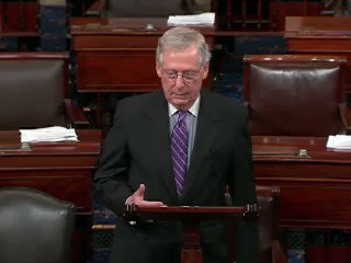 Mitch McConnell: 'That's what we have here - the weaponization of unsubstantiated smears.' https://t.co/VfuY0CRnYr https://t.co/kZPreHRmKq