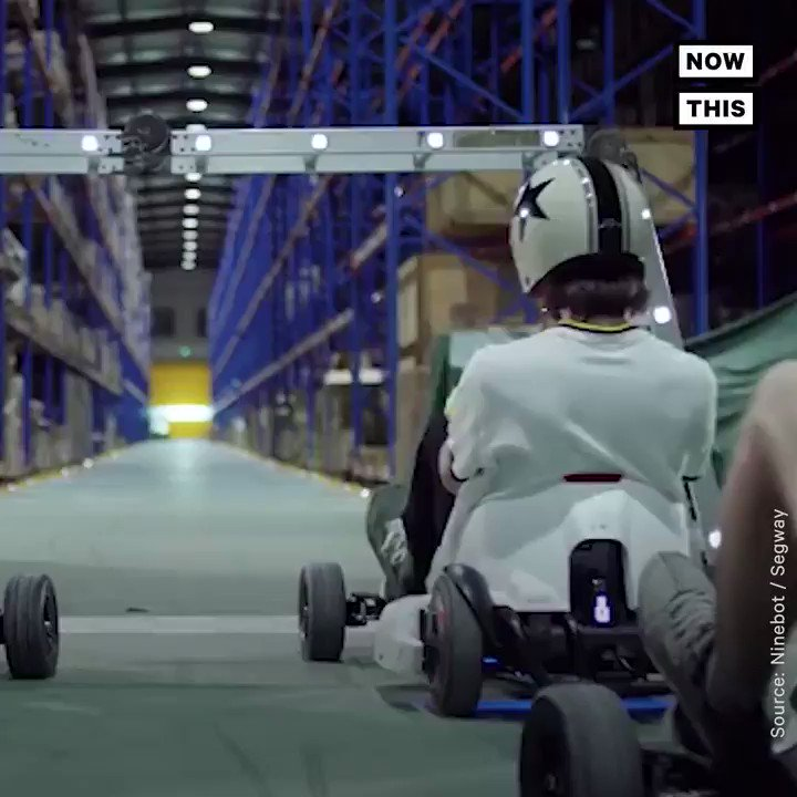 You can turn a segway into an electric go-kart with this DIY kit