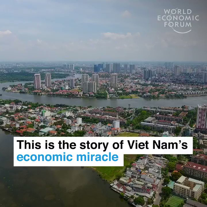 30 years ago it was one of the poorest countries in the world. Read more: https://wef.ch/2R95SHd #economics #society