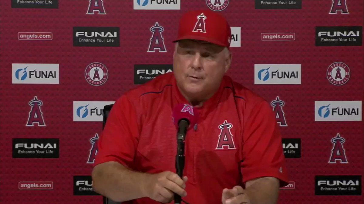 Thank you, Mike Scioscia, for the last 19 years of dedication to the Angels Organization. We wish you all the best. https://t.co/AfHLXD8sBc