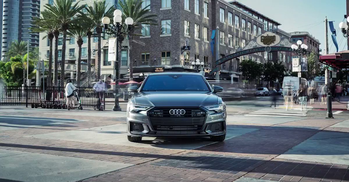 Actual footage of us being the center of attention. #AudiA6 http://audi.us/2DNzkQb