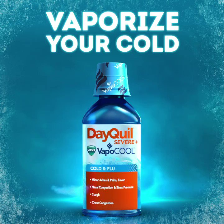 """NyQuil & DayQuil On Twitter: """"Introducing DayQuil SEVERE"""