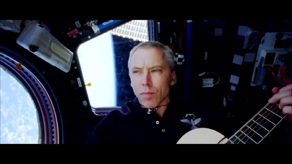 Nasa astronaut records music video of the tragically hip