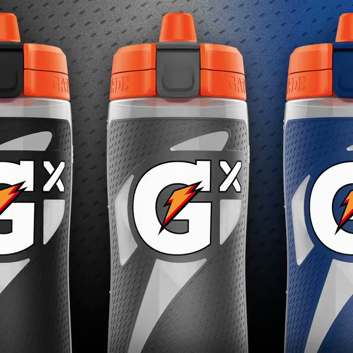 Stop staring at our Gx bottles and go 👏 get 👏 your 👏 own! Create yours today at http://gatorade.com/gx
