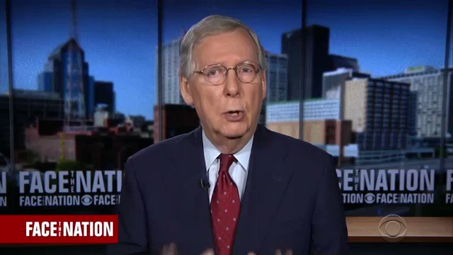 Mitch McConnell Defends Blocking Merrick Garland