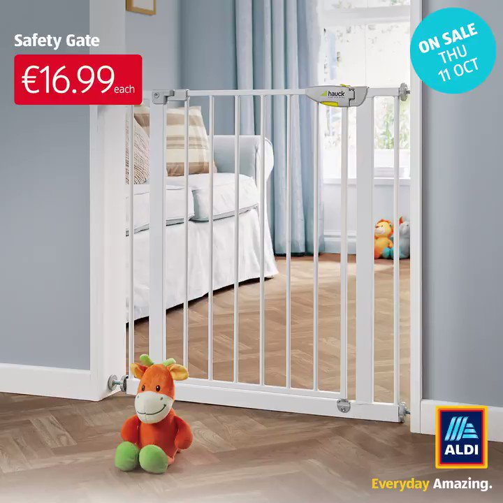 Aldi Ireland On Twitter We Ve Got The Essentials From Baby Gates