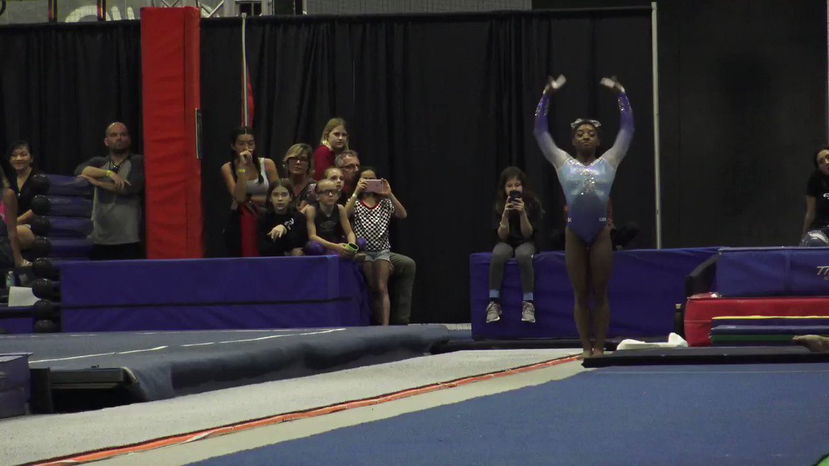 Simone Biles Just Nailed a Gymnastics Move No Woman Has Ever Done Before